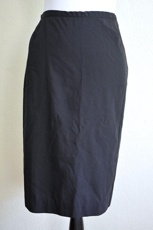 Black Skirt, Vintage Clothes, Vintage Skirt, Black Vintage Skirt