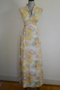 Ombre Maxi Dress, Vintage Clothes, Vintage Dress, Vintage Maxi Dress, 1970's Clothes, 1970's