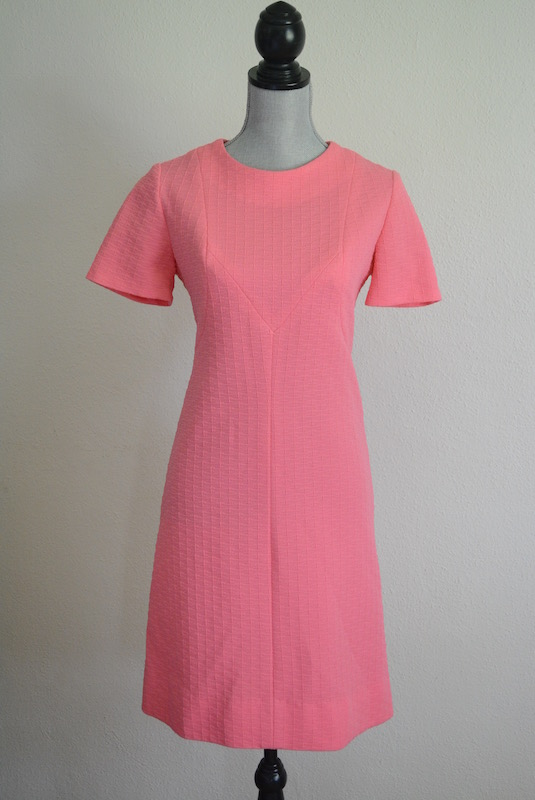 Pink Shift Dress, Vintage Clothes, Vintage Dress, Pink Dress, Shift Dress